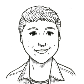 Helô D'Angelo é jornalista em formação pela Faculdade Cásper Líbero, quadrinista e ilustradora.